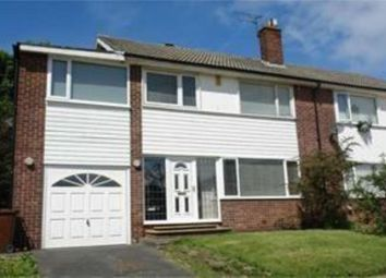 Thumbnail 4 bedroom semi-detached house to rent in Sheldon Grove, Gosforth, Newcastle Upon Tyne