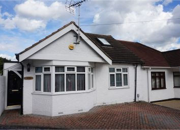 Thumbnail 2 bed semi-detached bungalow for sale in Palmerston Road, Grays