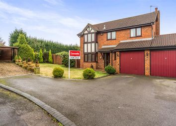 Thumbnail 4 bed detached house for sale in Charnwood Close, Brierley Hill