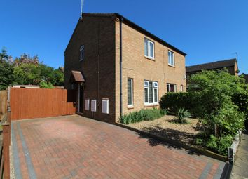 Thumbnail 2 bed semi-detached house for sale in Helston Place, Fishermead, Milton Keynes, Buckinghamshire