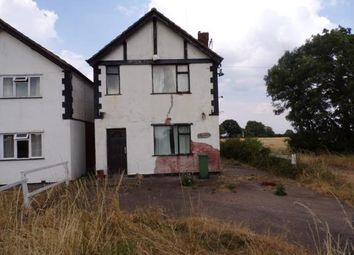 Thumbnail 2 bed detached house for sale in Station Road, Station Road, Stoney Stanton, Leicester