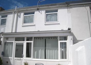 Thumbnail 2 bed terraced house to rent in Cheltenham Place, Newquay, Cornwall