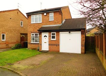 Thumbnail 3 bed detached house for sale in Eton Close, The Meadows, Stafford