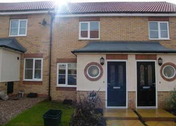 Thumbnail 2 bed terraced house to rent in Garden Close, Thorpe Astley, Leics