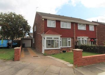 Thumbnail 3 bed semi-detached house for sale in Petrel Way, Blyth