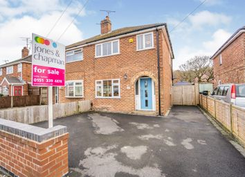 Thumbnail 3 bed semi-detached house for sale in Woodsome Drive, Whitby, Ellesmere Port