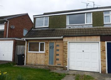 Thumbnail 3 bedroom property to rent in Queensfield, Swindon