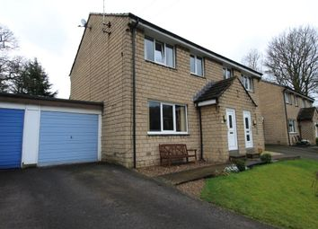 Thumbnail 3 bed semi-detached house for sale in Bramley Close, New Mill, Holmfirth