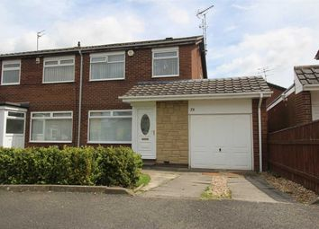 Thumbnail 3 bed semi-detached house for sale in Kirkbride Place, Eastfield Dale, Cramlington