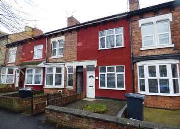 Thumbnail 3 bed terraced house for sale in Dogsthorpe Road, Dogsthorpe, Peterborough, Cambridgeshire