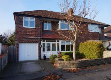 Thumbnail 4 bed semi-detached house for sale in Mosley Road, Timperley
