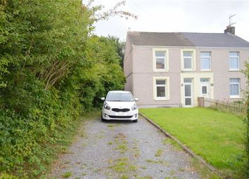 Thumbnail 3 bed semi-detached house for sale in Victoria Road, Waunarlwydd, Swansea