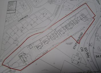 Thumbnail Land for sale in Station Road, Ystradgynlais, Swansea, City And County Of Swansea.