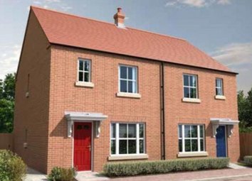 Thumbnail 3 bed end terrace house for sale in Meadow Way, Spalding, Peterboroough