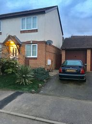 Thumbnail 2 bedroom semi-detached house to rent in Hatfield Close, Wellingborough