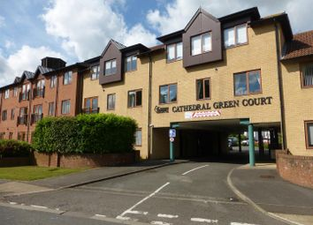 Thumbnail 2 bedroom flat for sale in Cathedral Green Court, Crawthorne Road, Central, Peterborough