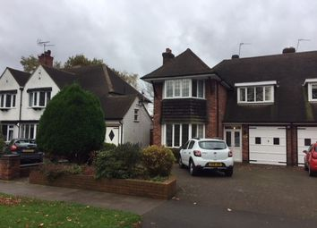 Thumbnail 4 bed semi-detached house to rent in The Boulevard, Sutton Coldfield, West Midland