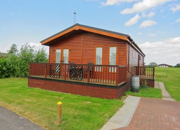 Thumbnail 2 bed lodge for sale in West View, High Farm Holiday Park, Routh