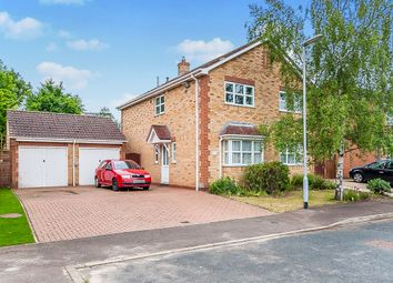 Thumbnail 4 bedroom detached house for sale in Vicarage Way, Yaxley, Peterborough