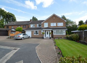Thumbnail 5 bed detached house for sale in Ringley Close, Whitefield, Manchester