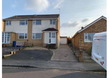 Thumbnail 3 bed semi-detached house for sale in Maureen Close, Parkstone Poole
