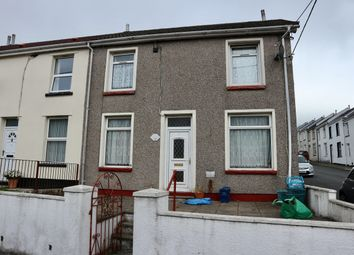 Thumbnail 2 bed end terrace house for sale in Queens Road, Twynyrodyn, Merthyr Tydfil