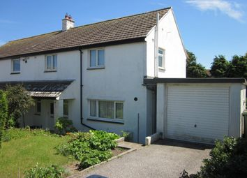 Thumbnail 3 bed semi-detached house for sale in Alexandra Road, St. Ives, Cornwall