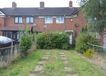 Thumbnail 3 bed terraced house to rent in Kemberton Road, Birmingham