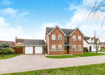 Thumbnail 4 bed detached house for sale in Wilkie Drive, Folkingham, Sleaford