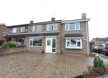 Thumbnail 4 bed semi-detached house for sale in Brenfield Drive, Hinckley