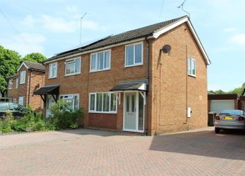 Thumbnail 3 bed semi-detached house for sale in Station Road, Hugglescote, Coalville