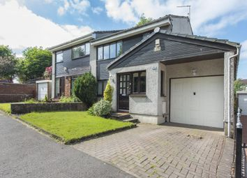 Thumbnail 3 bed semi-detached house for sale in 50 Westfields, Bishopbriggs, Glasgow