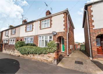 Thumbnail 3 bedroom end terrace house for sale in Church Street, Stanground, Peterborough