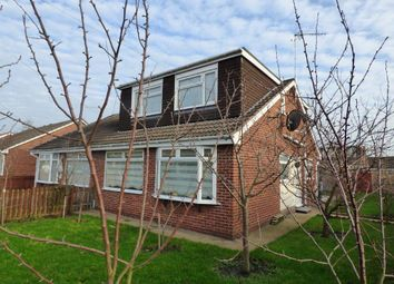 Thumbnail 3 bed semi-detached bungalow for sale in Borrowdale, Sutton-On-Hull, Hull