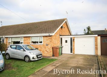 Thumbnail 2 bed semi-detached bungalow for sale in Waters Lane, Hemsby, Great Yarmouth