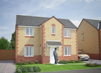Thumbnail 4 bed detached house for sale in Pontefract Road, Knottingley, West Yorkshire