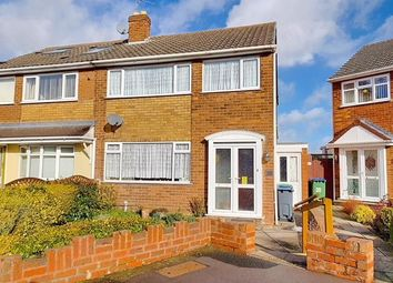 Thumbnail 3 bedroom semi-detached house for sale in Jayne Close, West Bromwich