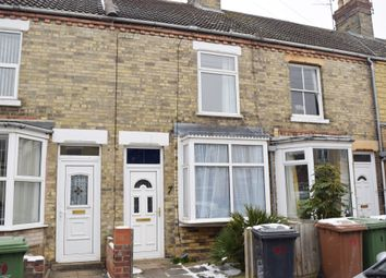 Thumbnail 3 bed terraced house for sale in South Parade, West Town, Peterborough