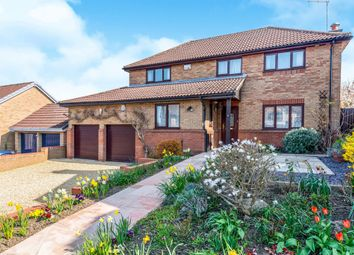 Thumbnail 4 bed detached house for sale in The Leys, Long Buckby, Northampton