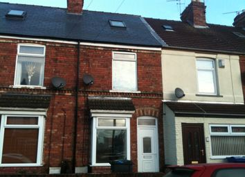 Thumbnail 3 bed terraced house to rent in Melrose Road, Gainsborough