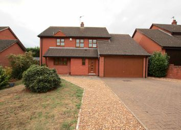 Thumbnail 4 bed detached house for sale in Southfield Close, Scraptoft