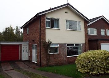 Thumbnail 3 bed detached house for sale in Baddiley Close, Baddiley, Nantwich, Cheshire
