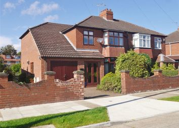 Thumbnail 4 bed semi-detached house for sale in Nunthorpe Crescent, York