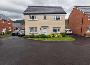 Thumbnail 4 bedroom detached house for sale in Pickering Close, Gilwern, Abergavenny