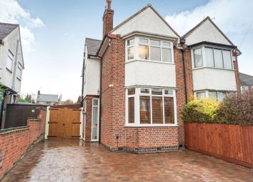 Thumbnail 3 bed semi-detached house for sale in Gimson Road, Leicester