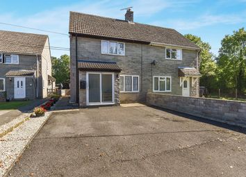 Thumbnail 2 bed semi-detached house for sale in Church Road, Sparkford, Yeovil