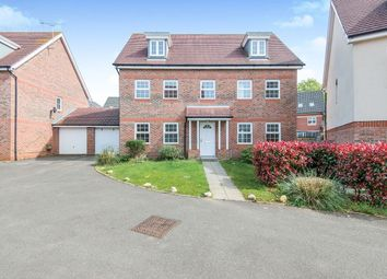 Thumbnail 5 bed detached house to rent in Mescott Meadows, Hedge End, Southampton