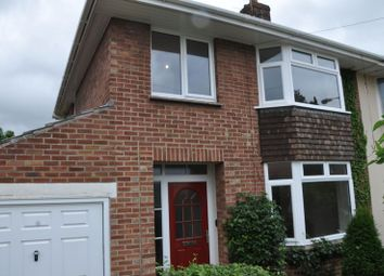 Thumbnail 3 bed semi-detached house to rent in Oldmead Walk, Bristol