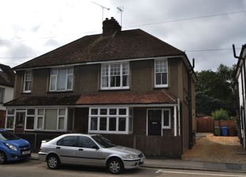 Thumbnail 3 bed semi-detached house to rent in Rectory Road, Farnborough