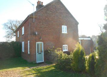 Thumbnail 3 bed cottage to rent in School Lane, Heckingham, Norfolk